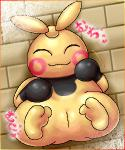 2011 2_toes box_xod cute female japanese_text low_res makuhita nintendo pokémon pokémon_(species) pussy smile solo text toes video_gamesRating: ExplicitScore: 1User: akiakiDate: January 02, 2018
