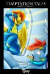 2015 anthro anthrofied blue_skin comic duo english_text equine female friendship_is_magic hair mammal multicolored_hair my_little_pony open_mouth orange_hair pegasus rainbow_dash_(mlp) rainbow_hair spitfire_(mlp) suirano surprise text wings wonderbolts_(mlp) yellow_skin  Rating: Questionable Score: 21 User: lemongrab Date: September 08, 2015
