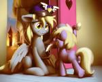 2015 amber_eyes bag blonde_hair city cloud cutie_mark derpy_hooves_(mlp) dinky_hooves_(mlp) door duo equine eyes_closed feathered_wings feathers female feral friendship_is_magic fur grey_feathers grey_fur hair hat horn letter mammal moonlitbrush_(artist) my_little_pony pegasus pink_fur sky spread_wings sun tower unicorn window wings  Rating: Safe Score: 14 User: ConsciousDonkey Date: April 10, 2016