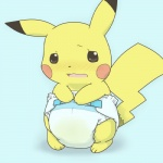 ambiguous_gender black_eyes blush diaper embarrassed feral fur nintendo pikachu pokémon simple_background solo unknown_artist urine video_games yellow_fur  Rating: Questionable Score: 2 User: Nugget91 Date: March 13, 2016
