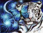 ambiguous_gender arthropod blue_eyes blue_theme blue_wings butterfly by-sa colored_pencil_(artwork) cool_colors creative_commons crescent_moon domonique_walden feline feral fur insect license_info looking_at_viewer mammal moon pink_nose portrait solo striped_fur stripes tiger traditional_media_(artwork) white_fur  Rating: Safe Score: 5 User: purple.beastie Date: September 02, 2015