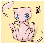 3_fingers 3_toes barefoot blue_eyes blush blysh cute female feral legendary_pokémon looking_at_viewer lying mew nintendo nude on_back pawpads paws pink_body pink_skin plain_background pokémon presenting presenting_pussy pussy raised_arm shadow solo spread_legs spreading toes video_games yellow_background コーリ   Rating: Explicit  Score: 12  User: WiiFitTrainer  Date: October 26, 2013