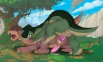 anal anal_penetration animated anus bite cum dinosaur duo feral forced littlefoot loop male male/male penetration penis rape scalie the_land_before_time washa   Rating: Explicit  Score: 11  User: cookiekangaroo  Date: October 07, 2010