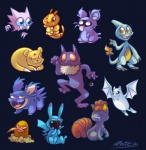 ambiguous_gender anthro bipedal blastoise blue_eyes brown_eyes caterpie charmeleon dewgong diglett eyes_closed fakémon fearow feral gloom group haunter hypno looking_at_viewer nidoran nidoran♂ nintendo open_mouth persian pikachu pokemon_fusion pokémon quadruped raichu shellder slowbro squirtle teeth tongue vaporotem venomoth venonat video_games vulpix zubat   Rating: Safe  Score: 4  User: slyroon  Date: September 01, 2013