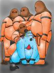 anal bdsm blush bondage bound chain chubby cuffs cum fishman forced futonuki group group_sex human jinbe male male/male mammal mask not_furry one_piece oral penis rape saliva sex slave small_penis sweat whip   Rating: Explicit  Score: 0  User: Zest  Date: January 24, 2015