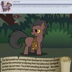 bitterplaguerat bush earth_pony equine forest horse loki_(bitterplaguerat) mammal mushroom my_little_pony pony solo text tree yellow_eyesRating: SafeScore: 0User: Aryanne_HooflerDate: April 25, 2017