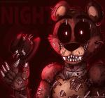 2015 animatronic five_nights_at_freddy's five_nights_at_freddy's_4 freddy_(fnaf) glowing glowing_eyes hat looking_at_viewer machine mechanical robot solo top_hat toy-bonnie video_games   Rating: Safe  Score: 1  User: Vallizo  Date: April 28, 2015