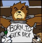 anthro bear canine clothing dog english_text frown group humor husky juuichi_mikazuki kouya_aotsuki low_res male mammal moobs morenatsu shirt shirt_lift shun text   Rating: Safe  Score: 8  User: terminal11  Date: November 19, 2013