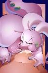"ambiguous_gender anthro cum cum_in_mouth cum_inside cum_leaking duo erection fellatio goodra green_eyes human interspecies male mammal nintendo nude oral penis pokémon poképhilia riendonut sex video_games  Rating: Explicit Score: 23 User: Pasiphaë Date: June 26, 2015"""