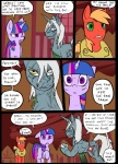 big_macintosh_(mlp) comic cutie_mark earth_pony equine feral friendship_is_magic group hair horn horse mammal metal_(artist) my_little_pony pony scar scratches twilight_sparkle_(mlp) unicorn