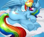 2015 blue_feathers equine feathers female feral friendship_is_magic fur hair madacon mammal multicolored_hair my_little_pony pegasus rainbow_dash_(mlp) rainbow_fur rainbow_hair solo wings  Rating: Safe Score: 4 User: Robinebra Date: November 25, 2015