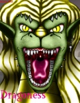 2002 anthro armor blonde_hair clothed clothing cross dragon drooling ear_piercing english_text female green_scales hair long_hair looking_at_viewer markie open_mouth piercing saliva scalie sharp_teeth slit_pupils solo teeth text tongue yellow_eyes  Rating: Safe Score: -2 User: GameManiac Date: April 21, 2015""
