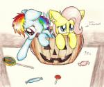 2013 blue_eyes blue_fur candy duo english_text equine female feral fluttershy_(mlp) friendship_is_magic fur hair halloween holidays horse jack_o'_lantern lollipop long_hair looking_at_viewer mammal multicolored_hair my_little_pony open_mouth pegasus pink_hair pony pumpkin punk-pegasus purple_eyes rainbow_dash_(mlp) rainbow_hair tears text tongue wings   Rating: Safe  Score: 11  User: Deatron  Date: October 31, 2013
