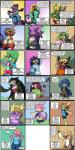 <3 adder amphibian blonde_hair blue_hair chameleon cleavage clothed clothing comic crocodile ear_piercing english_text eyewear fangs female frilled_lizard frog garter_snake gecko glasses green_hair hair headphones horn lips lipstick lizard looking_at_viewer microphone muscular newt one_eye_closed piercing ponytail reptile salamander scalie shenanimation shorts snake sports_bra text tree_frog viper wide_hips wink  Rating: Safe Score: 0 User: Nuji Date: November 15, 2015