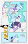 2015 anthro bakuhaku big_breasts breasts comic english_text equine female friendship_is_magic horn hug mammal my_little_pony princess_celestia_(mlp) redoxx text twilight_sparkle_(mlp) unicorn winged_unicorn wings   Rating: Safe  Score: 5  User: Robinebra  Date: May 24, 2015