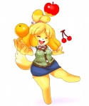animal_crossing apple breasts canine cherry dog eyes_closed female fruit isabelle_(animal_crossing) mammal matospectoru nintendo orange_(fruit) thick_thighs video_games   Rating: Safe  Score: 3  User: Juni221  Date: April 10, 2014
