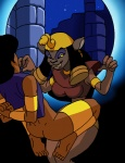 aladdin anal anal_penetration animated anthro big_breasts bottomless breasts butt captured cat clothed clothing dboy dildo disney duo feline female forced grin half-dressed human male mammal mirage navel night penetration rape sex_toy smile  Rating: Explicit Score: 1 User: Robinebra Date: February 13, 2013