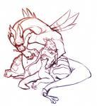2009 3_fingers 3_toes anthro belly big_belly claws cuddling cute dragon duo embrace horn hug kronexfire long_neck male nintendo nude overweight plain_background scalie sketch syrusdragon the_legend_of_zelda toes valoo video_games white_background wind_waker wings   Rating: Safe  Score: 3  User: syrmat  Date: September 26, 2014