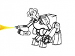 equine female flamethrower friendship_is_magic horse my_little_pony pinkie_pie_(mlp) pony power_armor ranged_weapon scar solo unknown_artist weapon   Rating: Safe  Score: 1  User: slops  Date: August 01, 2011