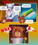 2014 anthro brown_hair canine comic dialogue digital_media_(artwork) duo english_text eyewear female fox glasses green_eyes hair long_hair male mammal open_mouth shari_(tiger1001) text tiger1001 tongue   Rating: Safe  Score: 5  User: Finchmaster  Date: April 30, 2014