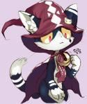 ambiguous_gender cape cat feline hat mammal rakurobit solo   Rating: Safe  Score: 7  User: ktkr  Date: April 19, 2014