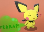 <3 ambiguous_gender blush fart fur jovial nintendo one_eye_closed open_mouth pichu pokémon solo video_games yellow_fur  Rating: Questionable Score: -4 User: Jovial Date: January 10, 2016