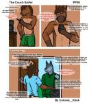 anthro boxers_(clothing) bulge canine clothed clothing colonel_klink comic dog duo equine fur heterochromia hi_res horse husky jay male mammal rockstar topless underwear  Rating: Questionable Score: 1 User: Colonel__Klink Date: March 17, 2016