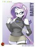 anthro anthrofied equine female friendship_is_magic horn mammal my_little_pony rarity_(mlp) skyraptor solo unicorn  Rating: Safe Score: 15 User: masterwave Date: September 26, 2013