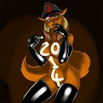 anthro carelessdoodler cat elbow_gloves feline female gloves hair hat legwear long_hair looking_at_viewer mammal navel nude pvc rubber shiny solo stockings swat_kats turmoil   Rating: Explicit  Score: 6  User: Robinebra  Date: January 02, 2014