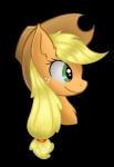 2015 applejack_(mlp) blonde_hair equine female feral freckles friendship_is_magic green_eyes hair hat horse mammal my_little_pony pony portrait shadowovermars side_view smile solo   Rating: Safe  Score: 3  User: Egekilde  Date: April 27, 2015