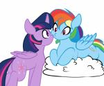 2018 cloud duo elzzombie equine female friendship_is_magic hair horn mammal multicolored_hair my_little_pony pegasus purple_eyes rainbow_dash_(mlp) rainbow_hair simple_background twilight_sparkle_(mlp) white_background winged_unicorn wingsRating: SafeScore: 9User: 2DUKDate: July 02, 2018