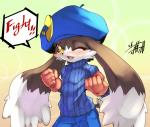 anthro blush fist klonoa klonoa_(series) male mammal one_eye_closed open_mouth shaolin_bones smile solo unknown_species  Rating: Safe Score: 6 User: Lionxie Date: February 05, 2016