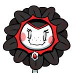 blush brooch eyelashes fangs female flora_fauna flower freckles grey_eyes looking_at_viewer low_res notepaddy plant plants_vs_zombies simple_background smile solo sunflower vampire white_background  Rating: Safe Score: 8 User: ROTHY Date: January 23, 2016