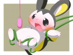 anus black_eyes black_skin blush censored cute emolga female gaping gaping_pussy nintendo open_mouth pokémon pussy restrained sex_toy solo spread_legs spread_pussy spreading tears tentacles vibrator video_games white_body white_skin yellow_skin かに汁  Rating: Explicit Score: 4 User: Hydr0 Date: January 09, 2015