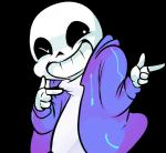 animated_skeleton bone clothing hoodie male not_furry pkbunny sans_(undertale) skeleton smile solo undead undertale video_games  Rating: Safe Score: 10 User: slyroon Date: January 27, 2016