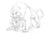 anal anal_penetration chris_mckinley disney duo erection feline feral feral_on_feral lion male male/male mammal mufasa penetration sex simba sketch the_lion_king  Rating: Explicit Score: 3 User: Vinea Date: December 04, 2015