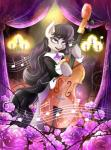 alpha_channel black_hair bow_(stringed_instrument) bow_tie cello cutie_mark digital_media_(artwork) equine female feral friendship_is_magic hair horse invidiata mammal musical_instrument my_little_pony octavia_(mlp) plain_background pony purple_eyes solo standing transparent_background  Rating: Safe Score: 9 User: DeltaFlame Date: July 01, 2015""