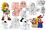 ? anthro anus areola balls bent_over big_breasts big_butt blush book breasts butt digital_media_(artwork) duo erect_nipples erection fantasizing female goomba goombella hi_res human kissing male male/female mammal mario mario_bros mouse ms_mowz multiple_poses nintendo nipples nude paper_mario penetration penis presenting presenting_hindquarters pussy rodent sex smile sssonic2 thick_thighs vaginal vaginal_penetration video_games voluptuous wide_hips   Rating: Explicit  Score: 23  User: Robinebra  Date: September 06, 2013