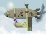 aircraft airship bomb command_and_conquer cub dragon duo equine explosives female feral friendship_is_magic hammer_and_sickle horn kirov_airship kirov_reporting kremlin kutejnikov male mammal my_little_pony red_alert red_star scalie spasskaya_tower spike_(mlp) twilight_sparkle_(mlp) unicorn young   Rating: Safe  Score: 5  User: Kholchev  Date: January 25, 2013