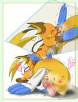 <3 animal_genitalia avian cloaca feral feral_on_feral japanese_text nintendo oral pasaran pelipper pokémon raichu shaking simple_background text trembling video_games white_background  Rating: Explicit Score: 2 User: Afterglow Date: April 11, 2016