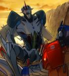 duo erection humanoid lesnee machine male male/male not_furry open_mouth optimus_prime penetration penis robot sex starscream teeth transformers transformers_prime  Rating: Explicit Score: 2 User: Miss-Mittens Date: February 05, 2016