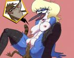 anthro areola avian balls bangs beak big_breasts bird black_nose blonde_hair blue_jay breasts brown_fur butt cartoon_network clitoris corvid duo eyelashes eyeshadow feathers female female_on_top fur gradient_background hair hairless_pussy half-closed_eyes interspecies larger_female looking_pleasured makeup male male/female mammal mature_female mordecai's_mom motion_lines multicolored_fur nipples on_top open_mouth penetration penis pink_background pussy raccoon regular_show reverse_cowgirl_position rigby_(regular_show) sex signature simple_background size_difference smaller_male smile thick_thighs two_tone_fur vaginal vaginal_penetration wide_hips wolftang  Rating: Explicit Score: 23 User: quietprv Date: February 24, 2016