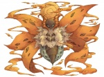 absurd_res hi_res insect kyounoikenie moth nintendo plain_background pokémon video_games volcarona white_background wings   Rating: Safe  Score: 5  User: AnacondaRifle  Date: April 03, 2011