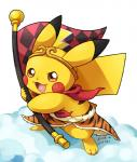 2016 ambiguous_gender clothing english_text feral flag hat long_ears mammal nintendo open_mouth pikachu pokémon rodent scarf signature simple_background solo text video_games white_background トマト豆太  Rating: Safe Score: 5 User: Cαnε751 Date: April 23, 2016