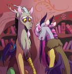 2015 antlers crying daughter discord_(mlp) draconequus fan_character fangs father father_and_daughter female friendship_is_magic hair horn lopoddity male my_little_pony pandora_(lopoddity) parent purple_hair red_eyes slit_pupils tears upset wings  Rating: Safe Score: 16 User: 2DUK Date: December 18, 2015