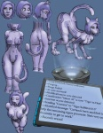 all_fours bendzz big_breasts blue_hair breasts butt collar cortana english_text feline female hair halo_(series) hologram humanoid mammal nude purple_body purple_hair pussy science_fiction solo text tiger transformation video_games  Rating: Explicit Score: 7 User: razordragon Date: September 08, 2012