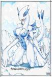 3_toes abs anthro blush breasts female legendary_pokémon lugia mariano muscles nintendo nipples pokémon pussy solo toes video_games  Rating: Explicit Score: 5 User: nekobellic Date: June 01, 2015