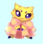 arachnid arthropod blush dress female joltik joltik_(artist) nintendo pokémon solo video_games   Rating: Safe  Score: 6  User: Juni221  Date: April 14, 2013