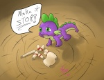 2011 a6p all_fours dragon drooling english_text friendship_is_magic green_eyes male my_little_pony open_mouth purple_body saliva scalie scroll signature simple_background solo spike_(mlp) text  Rating: Safe Score: 3 User: Falord Date: May 20, 2013