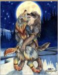 1999 ambiguous_gender anthro bipedal butt butt_grab canine colored_pencil_(artwork) duo embrace forest goldenwolf hand_on_butt hug licking mammal moon no_watermark nude outside standing tongue tongue_out torso_grab traditional_media_(artwork) tree tribal were werewolf wolf   Rating: Questionable  Score: 11  User: HowlingWolven  Date: March 28, 2014